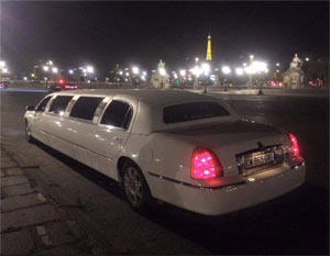 Paris By Night en limousine